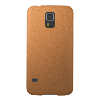 Copper Metallic Foil Effect Case For Galaxy S5