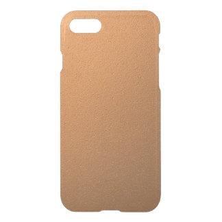 Copper Metallic Foil Effect iPhone 8/7 Case