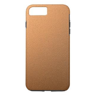 Copper Metallic Foil Effect iPhone 8 Plus/7 Plus Case