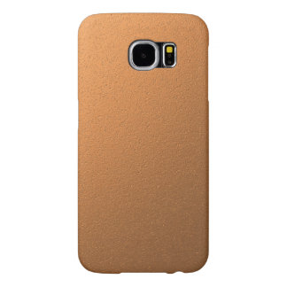 Copper Metallic Foil Effect Samsung Galaxy S6 Cases