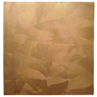 Copper Metallic Hand Brushed Cloth Napkin