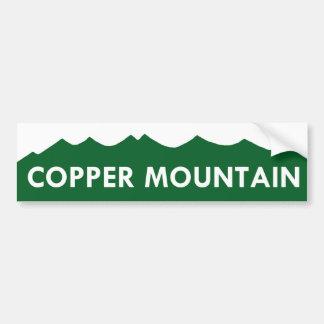 Copper Mountain Colorado Bumper Sticker