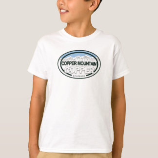 Copper Mountain Colorado Mountain Tag Shirt