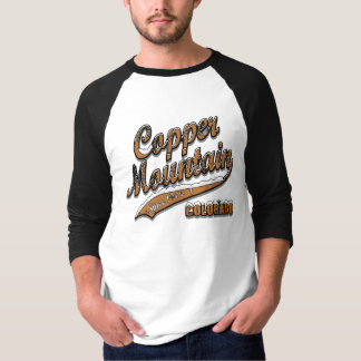 Copper Mountain Grunge Baseball Jersey T-Shirt