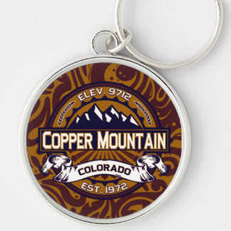 Copper Mountain Logo Keychain