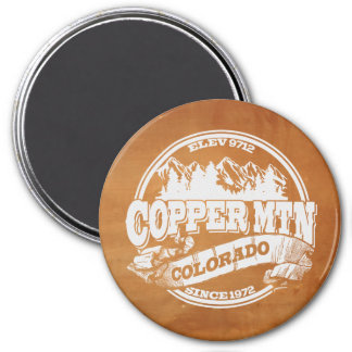 Copper Mountain Old Circle Copper Magnet