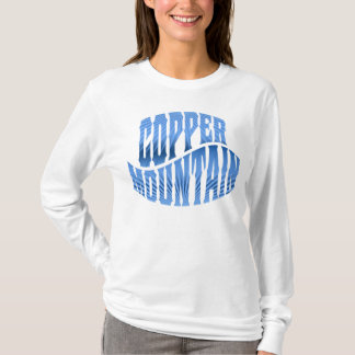 Copper Mountain Radiant Gradient Ice Blue T-Shirt