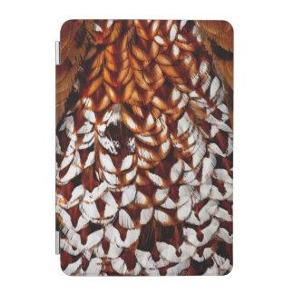 Copper Pheasant Feather Design iPad Mini Cover