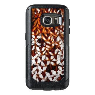 Copper Pheasant Feather Design OtterBox Samsung Galaxy S7 Case