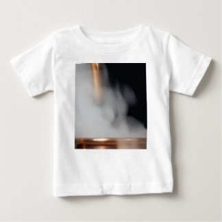 copper pipe of a distillery with steam. baby T-Shirt