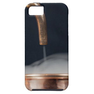copper pipe of a distillery with steam. iPhone 5 cases