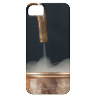 Copper pipe with steam case for the iPhone 5