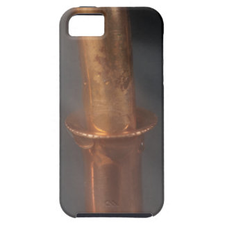 Copper pipe with steam iPhone 5 case
