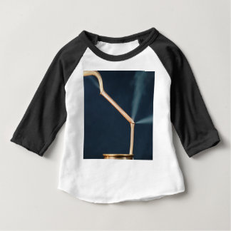 Copper pipes with a leak and steam. baby T-Shirt