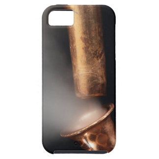 Copper pipes with steam iPhone 5 covers