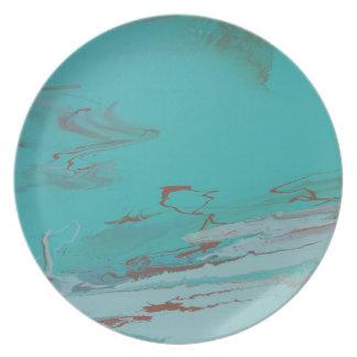Copper Pond Plate