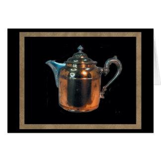 Copper Pot Blank Card