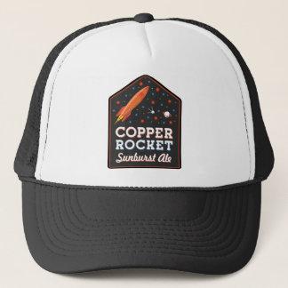 Copper Rocket Trucker Hat