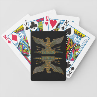 Copper Roman Eagle Playing Cards