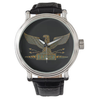 Copper Roman Eagle Watch