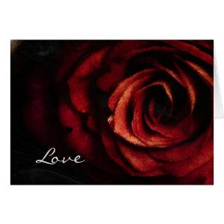 Copper Rose Card