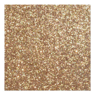 Copper Rose Gold Metallic Glitter Perfect Poster