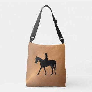 Copper Shine Equine Crossbody Bag