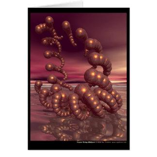 Copper Shrimp Whirlpool Card
