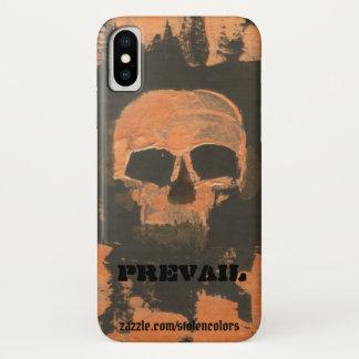 Copper Skull Prevail iPhone X Case