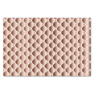 Copper Snake Scales Tissue Paper