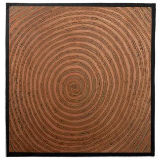 Copper Spiral Napkins