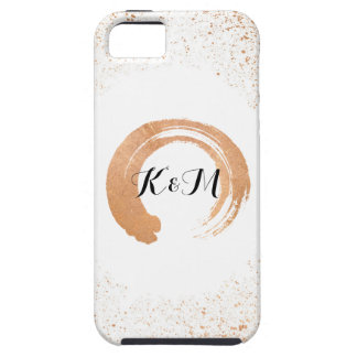copper Spray Wedding Collection Gifts iPhone 5 Cover