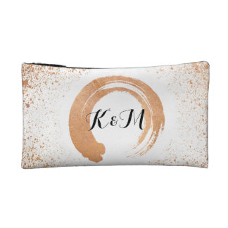 copper Spray Wedding Collection Gifts Makeup Bag