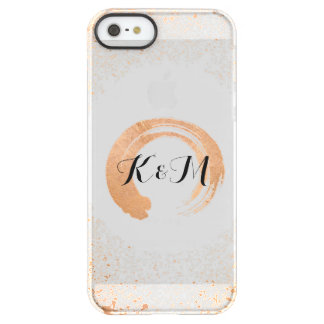 Copper Spray Wedding Collection Gifts Permafrost® iPhone SE/5/5s Case