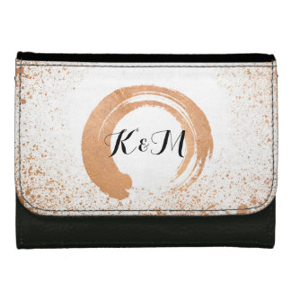 copper Spray Wedding Collection Gifts Women's Wallet
