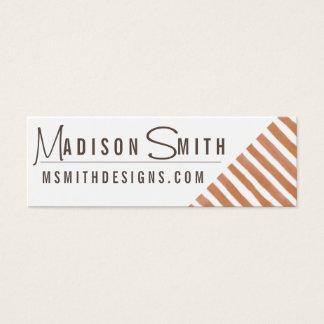 Copper Stripe Business Card