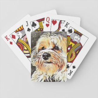 Copper the Morkie Playing Cards