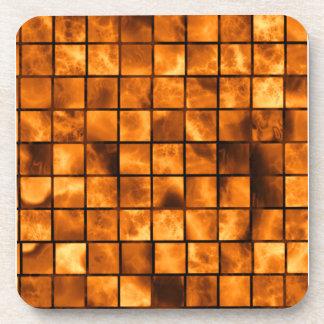 Copper Tiles Coaster