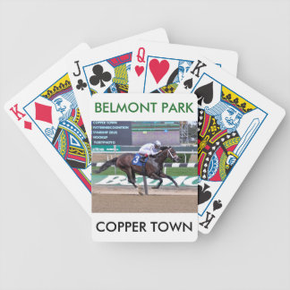 Copper Town Bicycle Playing Cards