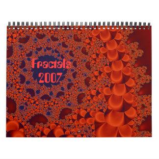 Copper Wreath, Fractals, 2007 Calendars