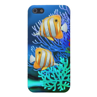 Copperband Butterfly Fish iPhone Case iPhone 5 Covers