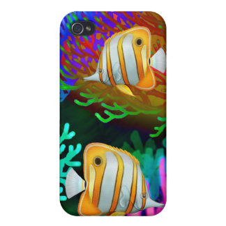 Copperband Butterfly Fish Speck Case iPhone 4/4S Case
