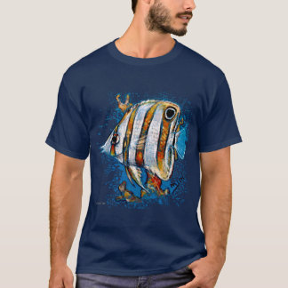 Copperband Butterfly Fish T-shirt