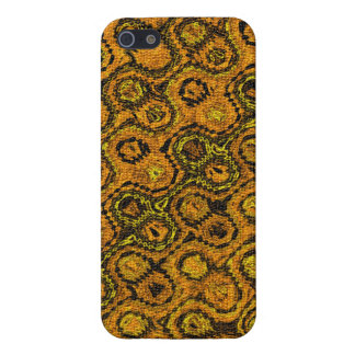 """""""Copperhead"""" Abstract pattern. iPhone 5/5S Case"""