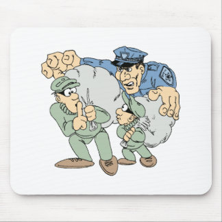 Cops and Robbers Mouse Pad