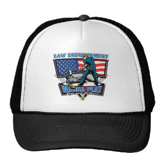 Cops and Robbers Trucker Hat