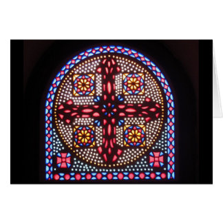 Coptic Cross Card
