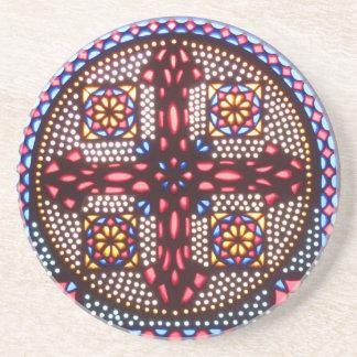 Coptic Cross Coaster