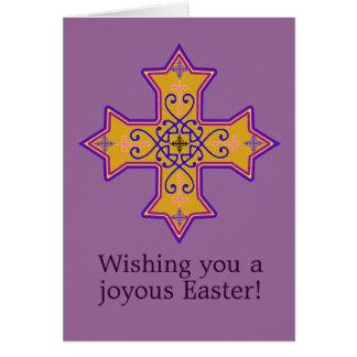 Coptic Cross Easter Card