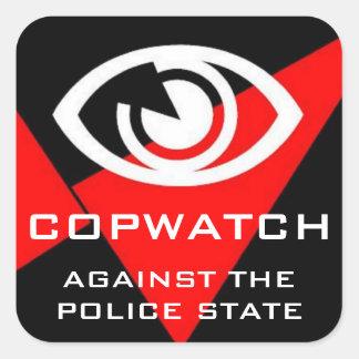 copwatch square sticker